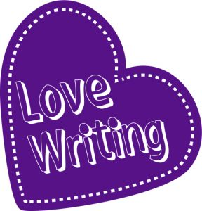 Love writing logo