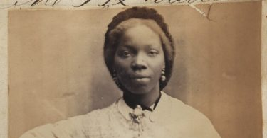 Sarah Forbes Bonetta (Sarah Davies) by Camille Silvy albumen print, 15 September 1862 NPG Ax61384 © National Portrait Gallery, London